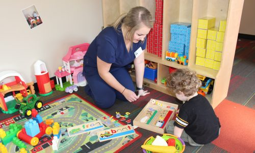UM Students and Faculty Help Children Develop to Their Potential