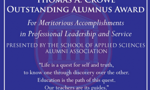 School Seeks Nominations for the Thomas A. Crowe Outstanding Alumnus Award