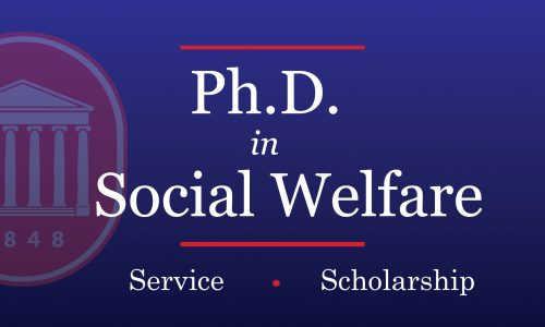 School Launches Doctoral Program in Social Welfare