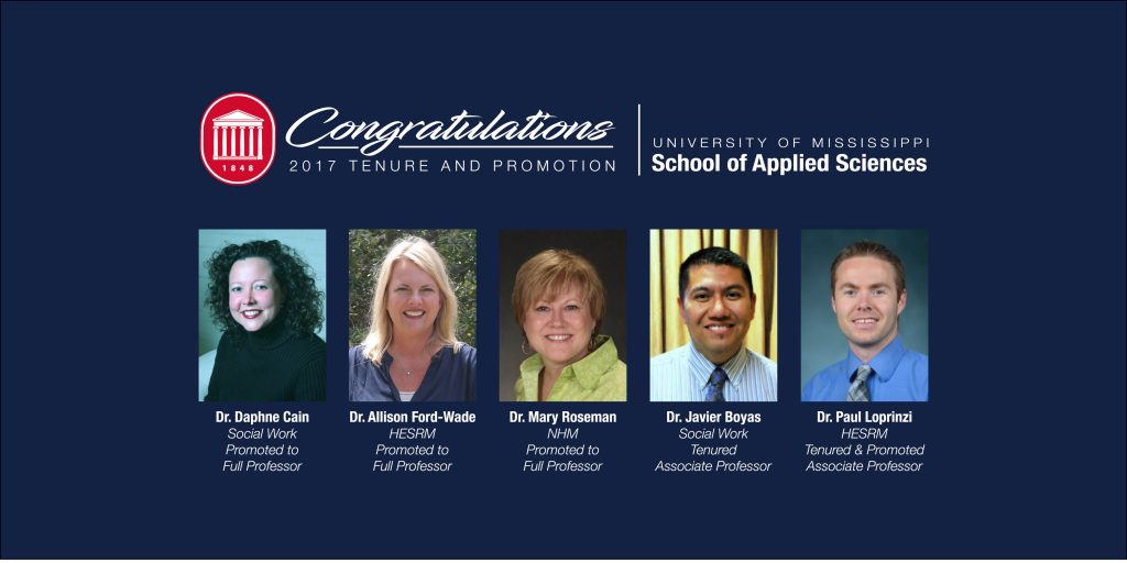 congratulations tenure