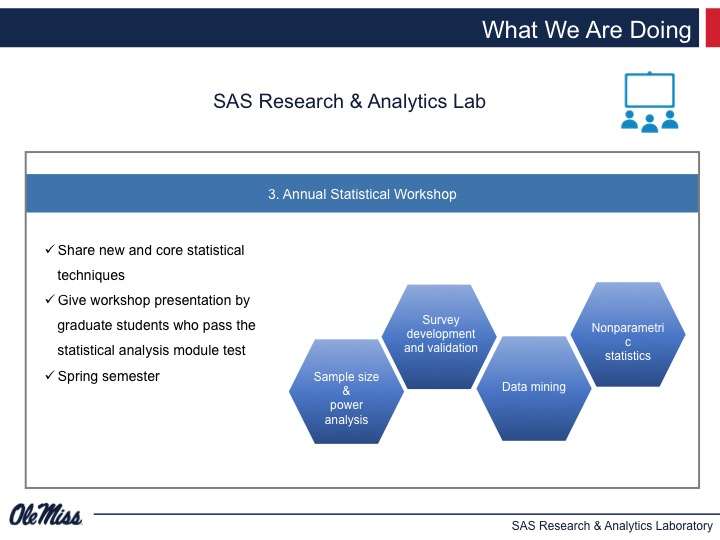 School of Applied Sciences | Research & Analytics Laboratory